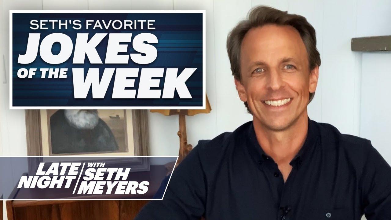 Seth's FavoriteJokesoftheWeek: Washington Football Team, Biden's Running Mate