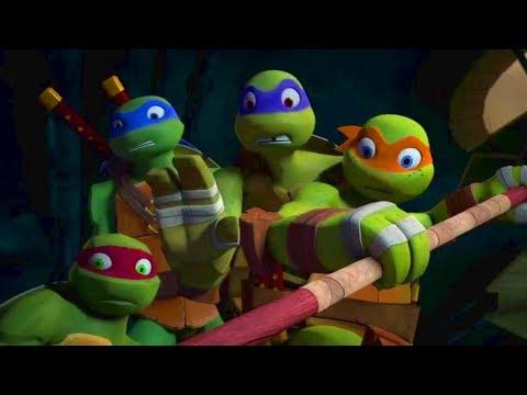 Turtles Attack on Splinter