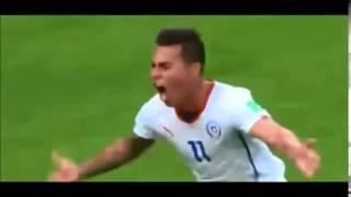Relato Trovador del Gol, Chile 2 - 0 España