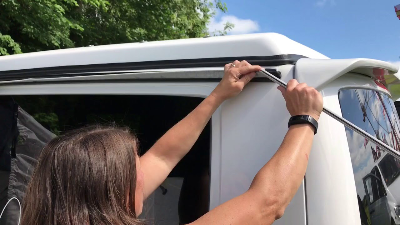 How To Attach a Campervan Driveaway Awning