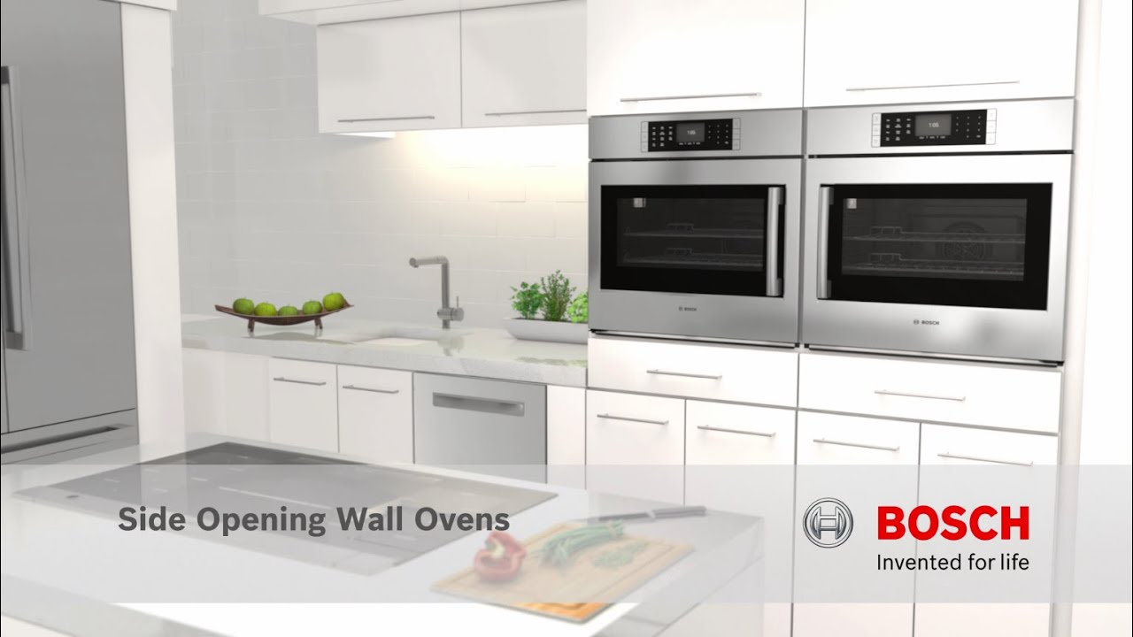 Bosch Benchmark Side Opening Wall Ovens At Rc Willey