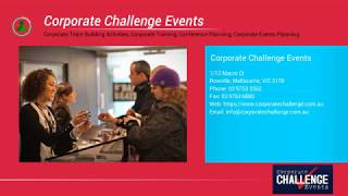 Events planning services that support the EA & PA of today - Corporate Challenge Events