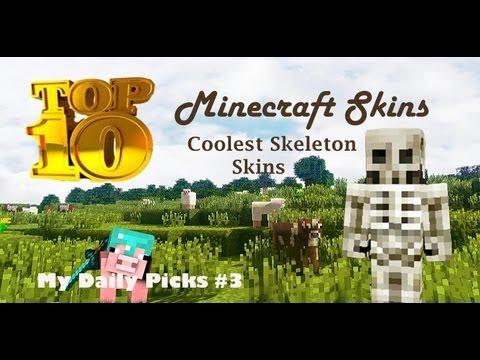 Top 10 Minecraft Skins - Minecraft Skins Top 10 Cool Minecraft Skins Cool Skeleton Minecraft Skins