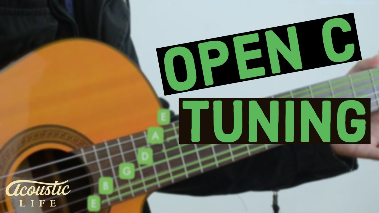 how to play guitar in open c tuning youtube. Black Bedroom Furniture Sets. Home Design Ideas