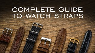 A Complete Guide t๐ Watch Straps: Everything You Should Know