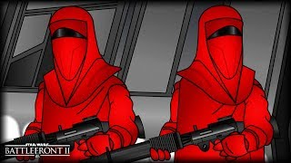 Day in the Life of a Royal Guard   Star Wars Battlefront Animated