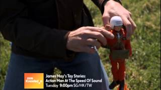 james may s toy stories action man at the speed of sound bbc knowledge ch 407