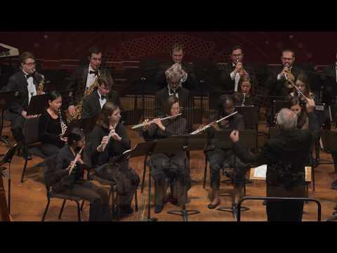 UMich Symphony Band - Judy Bozone - Spilled Orange (2018) world premiere Mp3