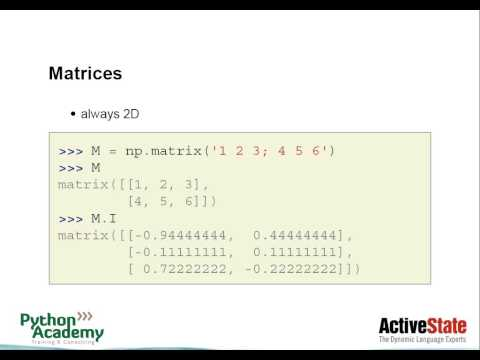 ActiveState Webinars: Migrating from Matlab to Python
