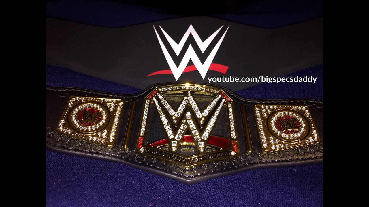 how to make wwe world heavyweight championship belt at home