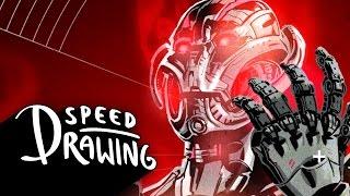 Speed Drawing: Ultron