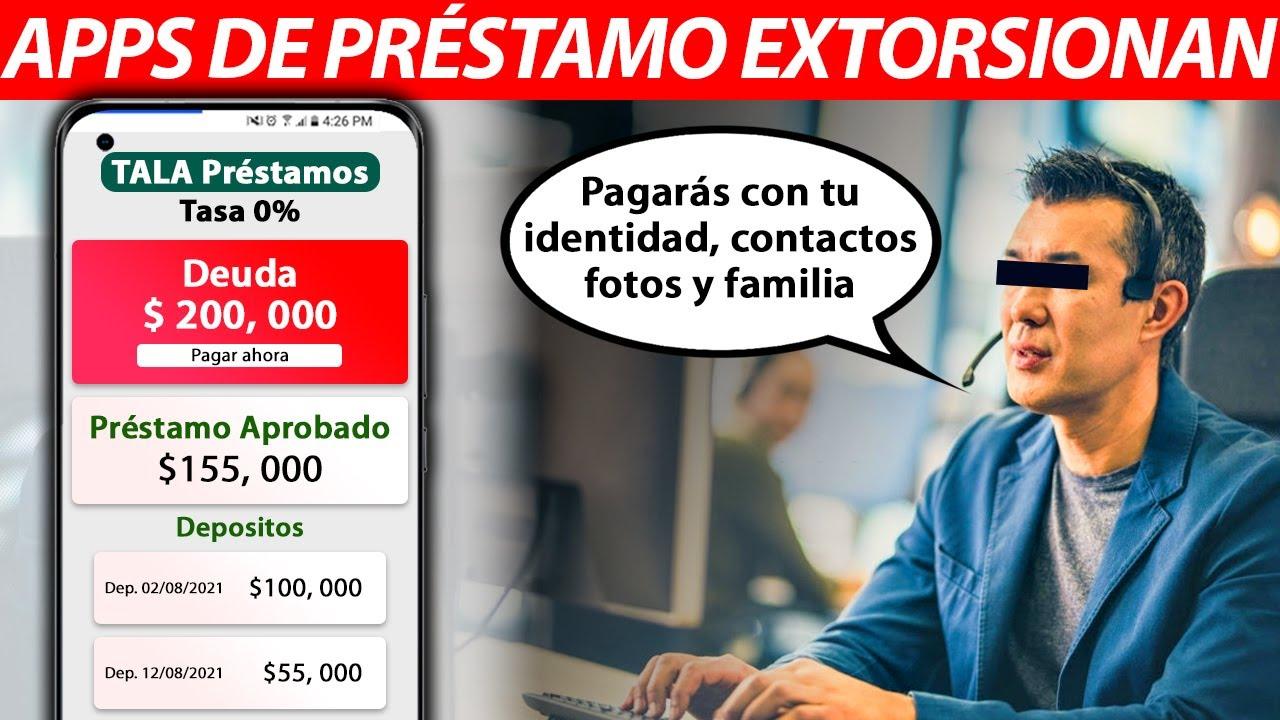 Apps de Crédito, Préstamo con Interés y Extorsión |  Estafa Millonaria