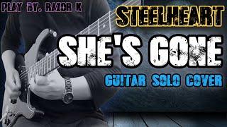 SteelHeart - She's gone Guitar solo cover