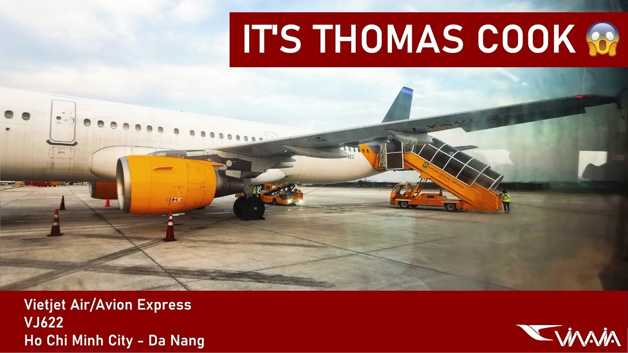 FLYING THOMAS COOK IN VIETNAM!? | Vietjet Air (ECONOMY) | Ho Chi Minh City – Da Nang | Airbus A321