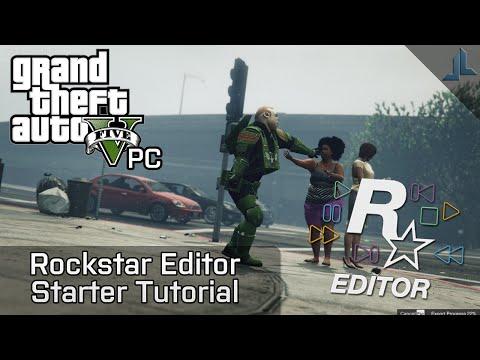 GTA V PC: Rockstar Editor Starter Tutorial