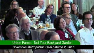 Urban Farming, Not Your Backyard Garden
