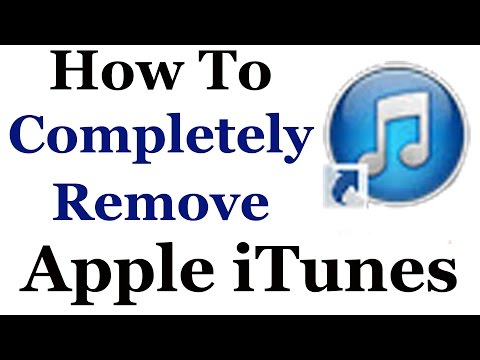 how-to-completely-uninstall-apple-itunes-from-windows-7-&-8