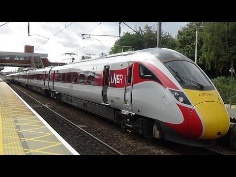 Trains at Stevenage (ECML) - 17/08/2019