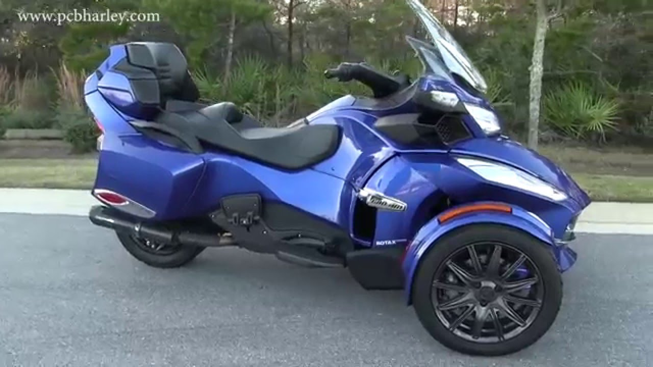 Used 2013 can am spyder rt limited