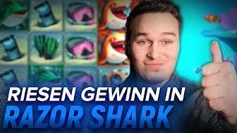 EPISCHER GEWINN in RAZOR SHARK SLOT! Freispiele und Bonus!