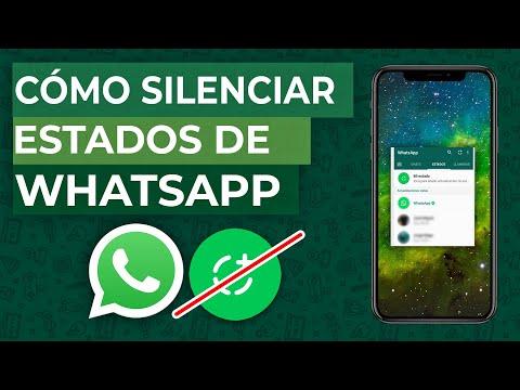 Cómo Desactivar o Silenciar Estados de WhatsApp de un Contacto