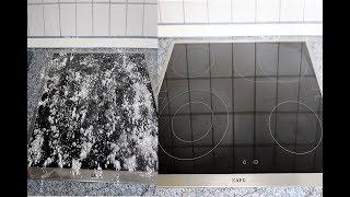 Haushaltstipps I Cerankochfeld reinigen ohne Chemische Reinigungsmittel I Cam Ocak Nasil Temizlenir