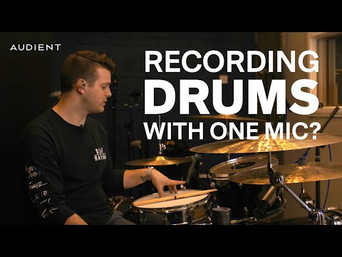 How to Record and Mix Drums With Limited Mics