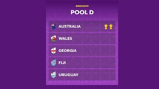 Pool D Preview - Rugby World Cup 2019
