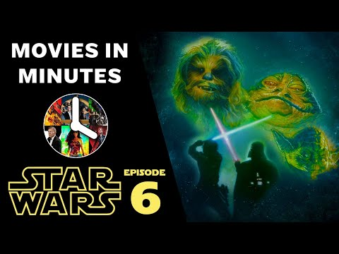 STAR WARS: EPISODE VI - RETURN OF THE JEDI In 4 Minutes (Movie Recap)