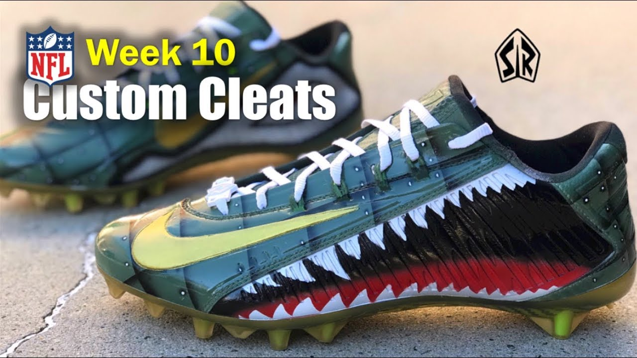 696dbdc44168 BEST Football Cleats 🎨 in the NFL - Week 10 (Salute to Service ...