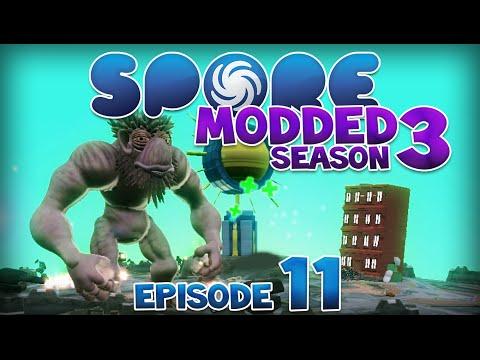 SPORE: Modded - EPIC TROUBLE! | Ep11 Season3 - Spore Civilization Stage