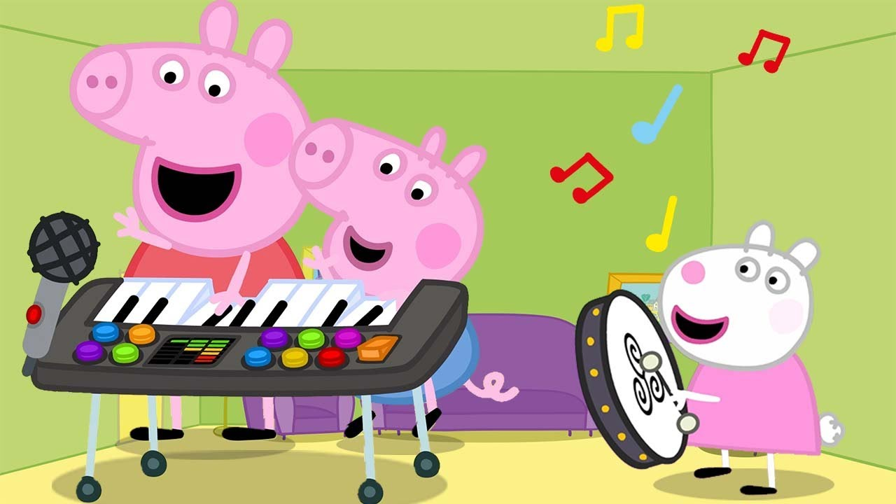 Made Up Musical Instruments | Peppa Pig Full Episodes!