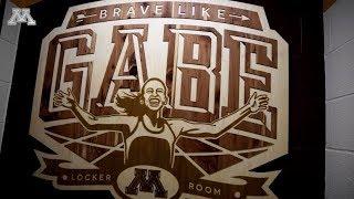 Brave Like Gabe Women's Cross-Country, Track & Field Locker Room Reveal
