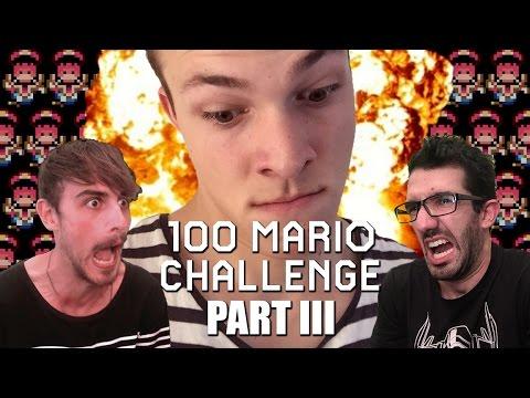 ENTER PLAYER THREE - 100 Mario Challenge Expert Mode
