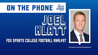 FOX Sports' Joel Klatt on Who Goes Off the Board First on Day 2 of NFL Draft | The Rich Eisen Show