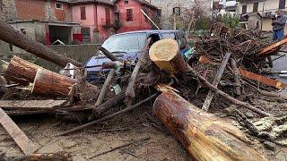 Mindestens 2 Tote bei heftigen Unwettern in Norditalien