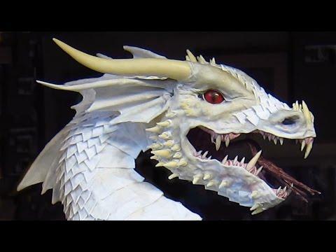 Win this Paper Mache Dragon!!