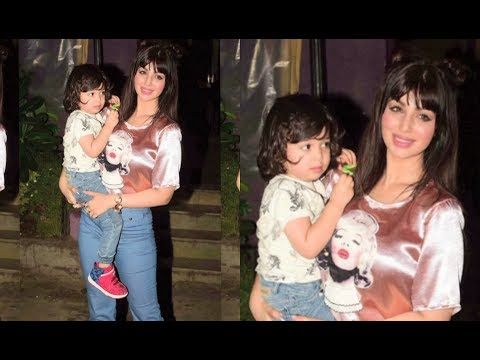 Ayesha Takia's LATEST Pictures With Her Cute Son thumbnail