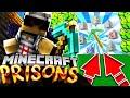 *Making a GOD PiCkAXE*!Minecraft PE PRISON Server Let's Play - [MCPE 1.12.0+ PRISON]