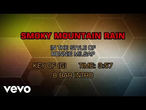 Ronnie Milsap - Smoky Mountain Rain (Karaoke)