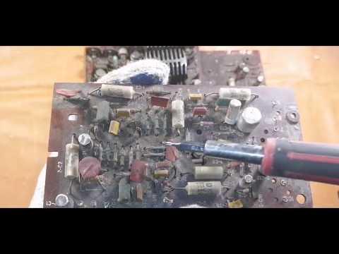 Где искать золото и палладий в советских магнитофонах Электроника 302, Россия м 311 с