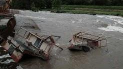 Ariège : inondations à Saint-Lizier après la rupture d'une digue en raison de la montée du Salat