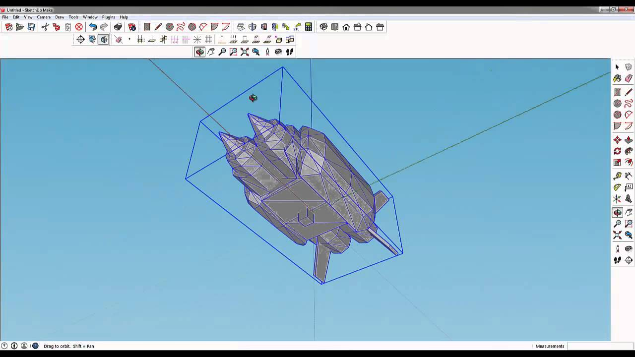 Extraction of Unreal Engine Models and Prep for Fusion 360
