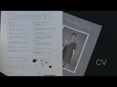Fashion CV/Resume Tips