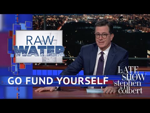 Download Youtube: Stephen Colbert's 'Go Fund Yourself': Raw Water