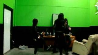 Andy Biersack and Sandra Alvarenga Dancing