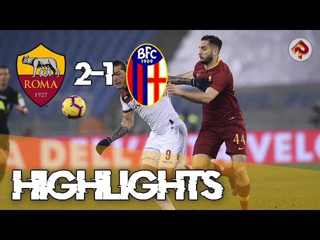ROMA 2-1 BOLOGNA | Highlights