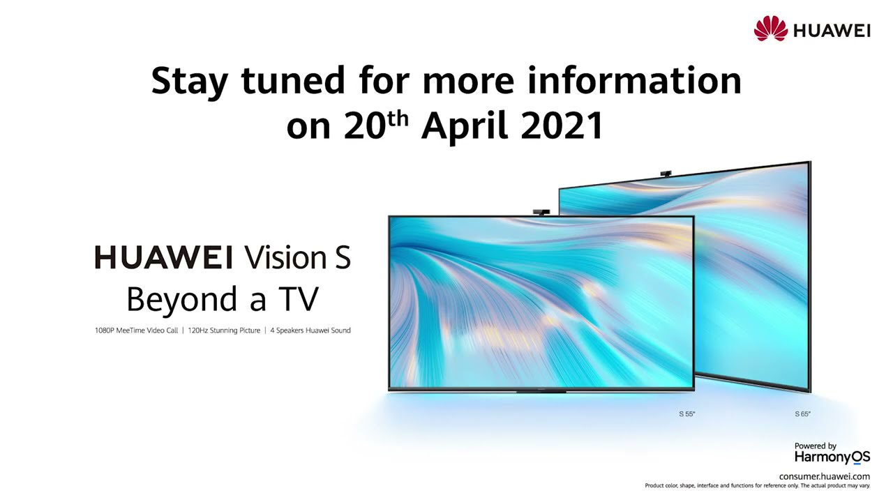 Enjoy Big Screen, Big Call, Big Moments with #HUAWEIVisionS