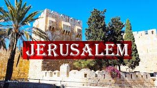 Walking in JERUSALEM, Israel - OLD CITY