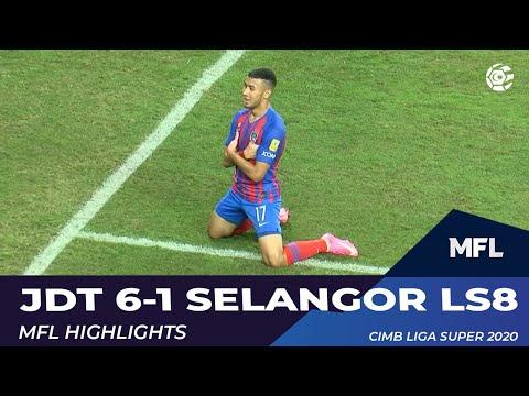 [MSL] JDT FC [6] - 0 Selangor FA - Ramadhan Saifullah amazing finish (75')